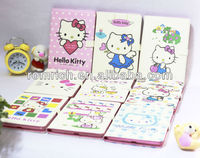 new products for Apple ipad mini cute hello kitty PU leather stand case full protection flip cover