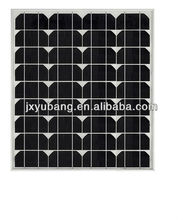YB125M36-50W 12V cheap Grade A high efficiency jiaxing Winbright CE Solar pv panel photovoltaic panel