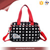 promotion fashionable colorful style dot print women bags shoulder bag