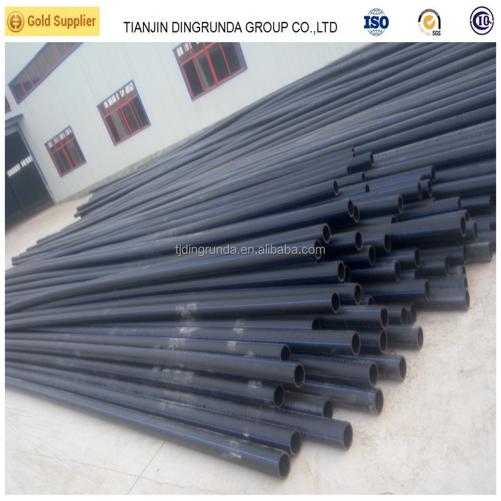 Tubes pead 125mm hdpe pipe with flange adapters