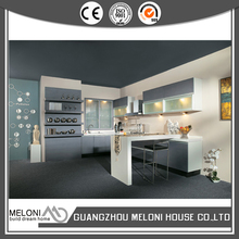 custom pvc kitchen cabinet production line with soft closing