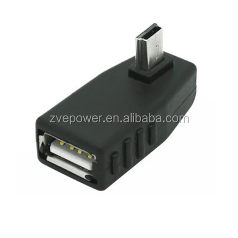 mini USB adapter male to female head vehicle conversion adapter connector