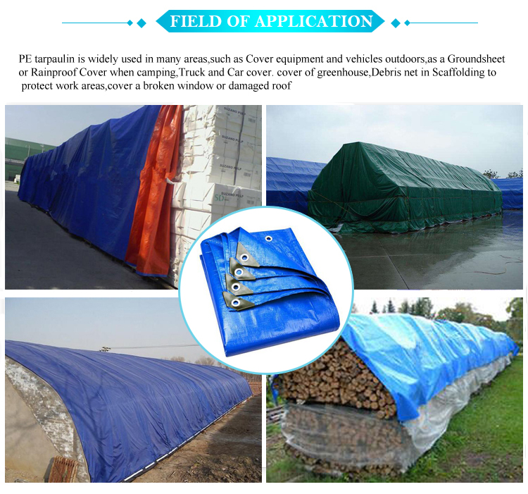 application for tarpaulin