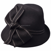Hot-selling fashion wool felt cloche formal hat woman