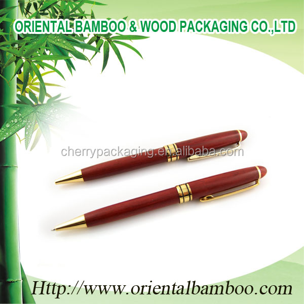 High quality luxury charming bamboo pen