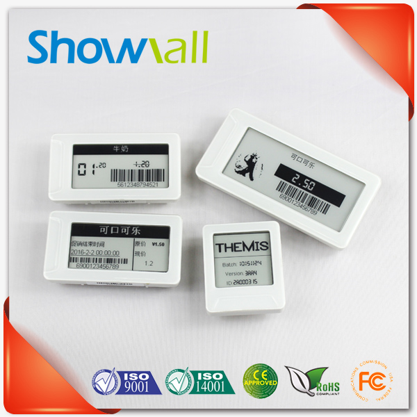 Retail esl wireless epaper electronic smart shelf label price tag