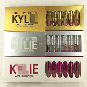 New Kyli fit storm Lipgloss Liquid Lipstick collection 6 colors set theLipstick