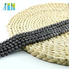 YIWU 4mm to 20mm Jewelry Making Beads X000710 Grey Round Cat Eye Beads in Wholsale