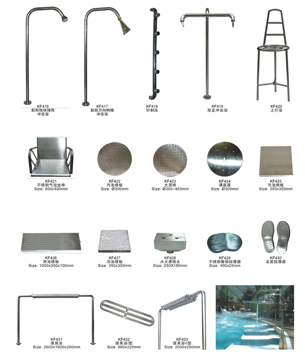 Guangzhou Manufacture of Swimming Pool Equipment 15 years designs and construction experience