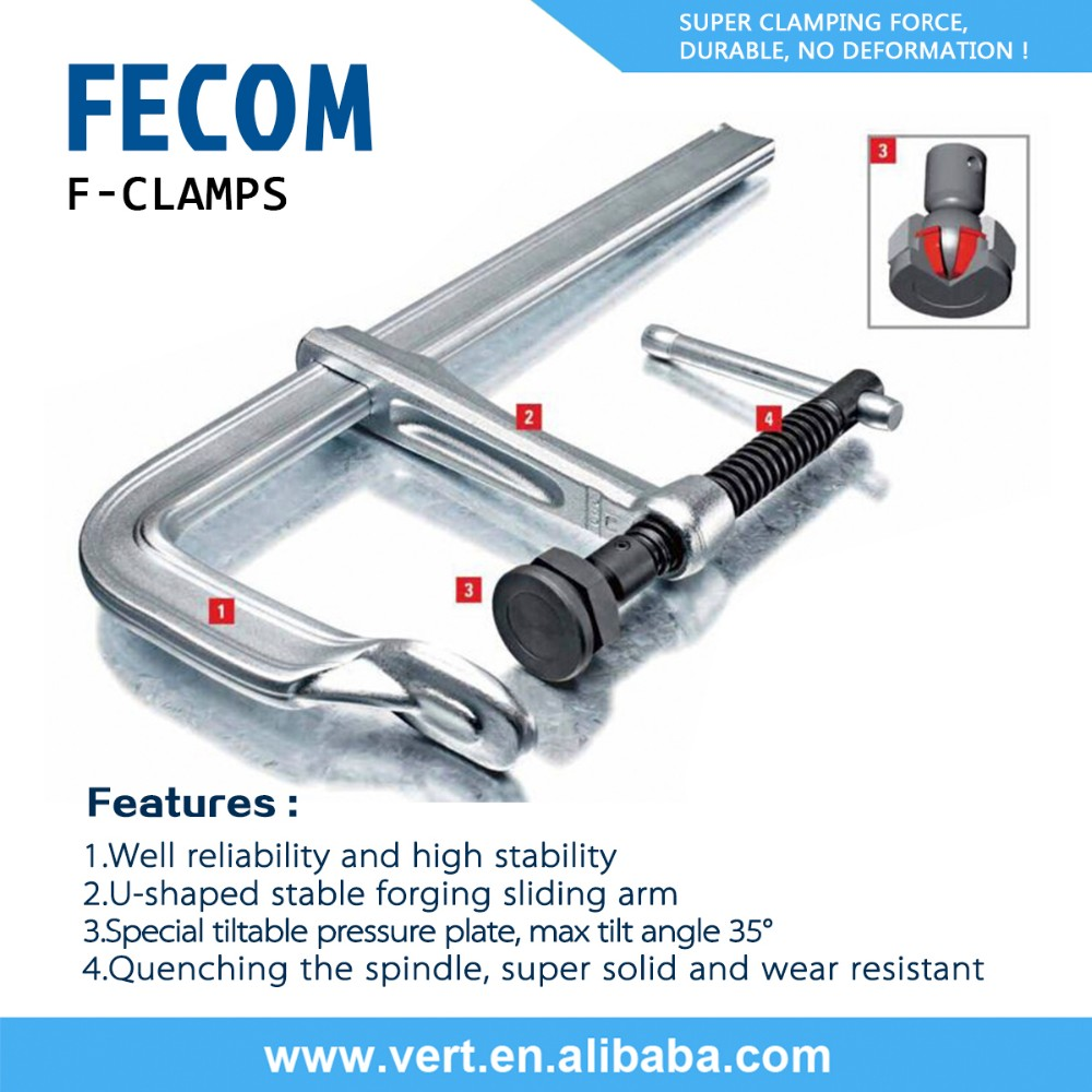 FECOM super quality low price clamp quick silver clamps on offer