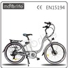 MOTORLIFE/OEM EN15194 2015 winter new style 36V 26 inch 250w leisure electric vehicle, city e bike for women