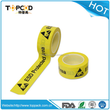 ESD Caution tape providing with excellent floor marking, wall marking, equipment marking, and labeling