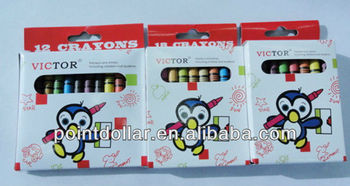 12/ 18/ 24 Crayon Set/ Promotional Crayons/ Lovely design crayon set for kids