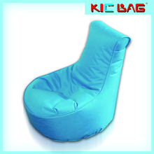 Small outdoor waterproof fabric kids lazy boy beanbag chair