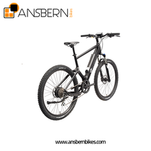2018 Newest Full Suspension 27.5 Inch Mountain Electric Bicycle