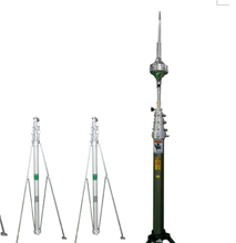1-45m military and civil radio telescopic mast