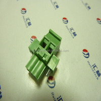 PCB board pitch 5.08mm flanged 2 wire male female connector