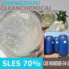 Clean Chemical emulgator SLES n70 chemical / textile assistant SLES 28% with competitive price