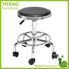 Hot Selling Fashion Swivel Bar Stools With Wheels