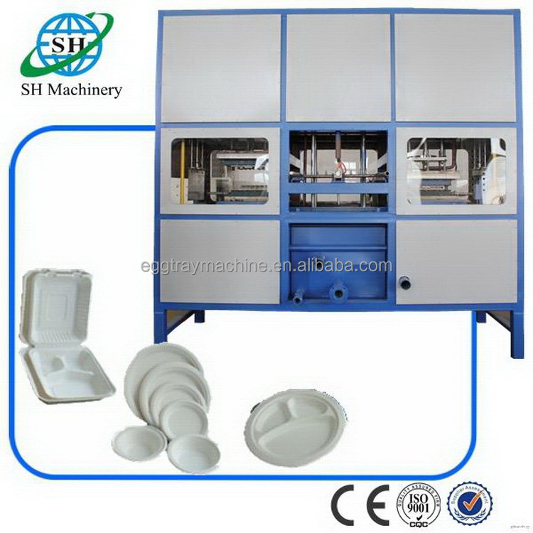 Top grade most popular pap lunch box forming machine