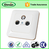 Universal Satellite TV Wall Switch Socket Outlet