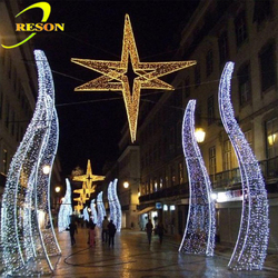 Event Christmas Street Decorative Led Mental Arch