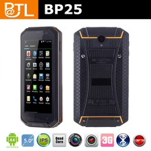 WDF1078 BATL BP25 tough body no brand rugged smartphones IP67 with 1G+4G 5200mah removable battery