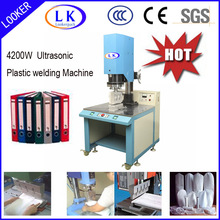Stationery folder ultrasonic plastic welding machine