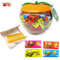 China supplier tattoo bubble wholesale gum in apple jars