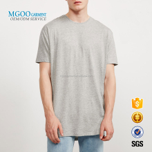 MGOO GARMENT Manufacture Longline Cotton Apparel OEM Casual Brand Label T-shirts High Quality Custom Christmas Gift Clothing
