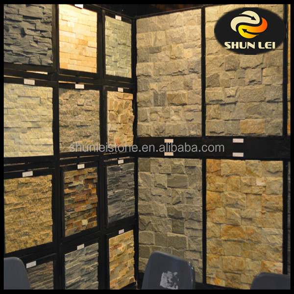 slate culture stone exterior wall cladding