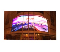 gkgd outdoor commercial advertising LED wall p10 rohs display module