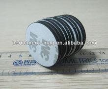 Rubber coated magnets /rubber magnet/rubber magnet pieces