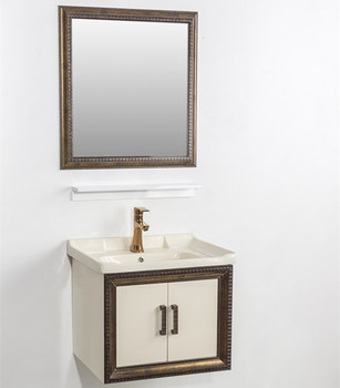 New antique cheap bathroom vanity set with mirror furniture bathroom basins and cabinets