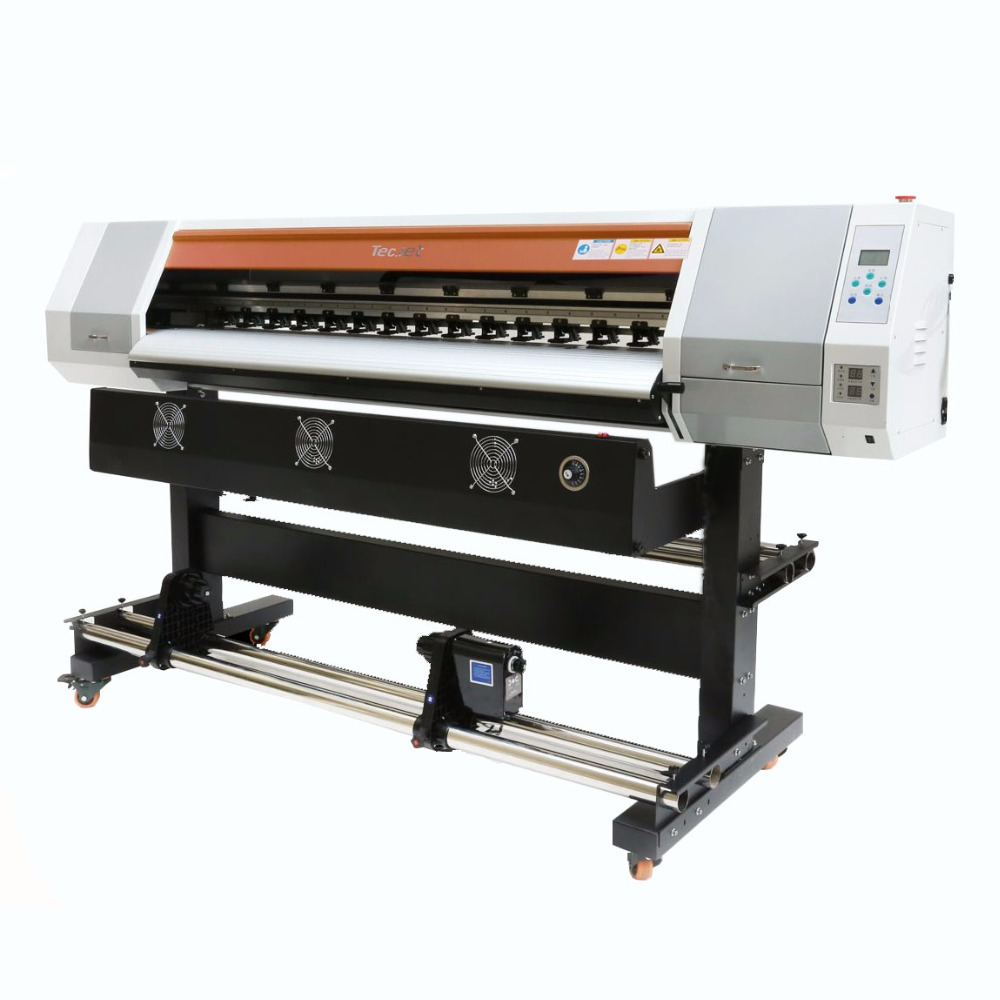 Free sample 5ft dx5/dx7/xp600 digital inkjet eco solvent printer hologram flexo printing machine for indoor advertising