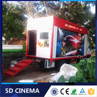 Mobile 5D/7D/8D/12D Cinema Outstanding Quality XD Cinema seats/7D Cinema