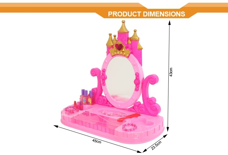 Kids fashion girls beauty play set toys makeup toy