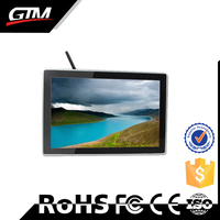 42 inch wifi Full HD Wall Mount LCD Advertising Player display vertical touch screen all in one indoor touch ad lcd monitor