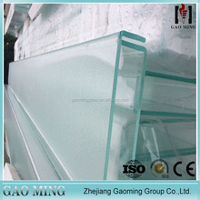 Reliable Supplier Modern Safe for Hotel Bathroom Balcony U Shaped Glass Shape Panel PT10-23