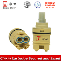 side outlet water tap cartridge valve