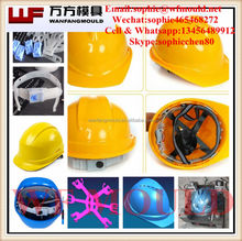 OEM Custom injection safety helmet mold/High quality Newly Design MSA injection Industrial safety helmet mold
