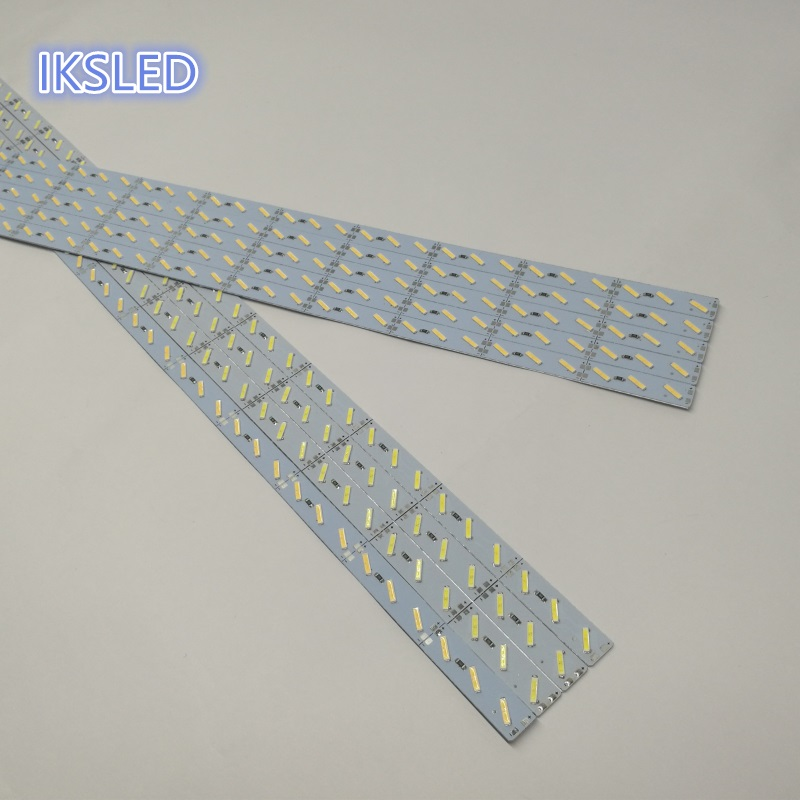 8520 SMD cool white double chips 144leds/m 8520 led rigid light bar for Christmas decoration