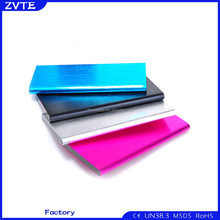 reseller opportunities cool shape high capacity Slim metal power bank 10000mAh for gift