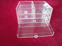 Hot Slae Items 6 Drawer Clear Acrylic Multipurpose Boxes