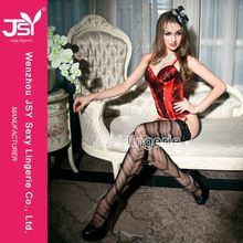 Hot Sale Good Quality Satin Lingerie Lacing Corset From China