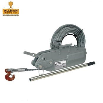 ALLMAN wire rope lever puller hoist winches for lifting and material handling