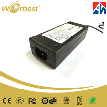 Power adapter dc 24v 2000mA to ac 100-240v power supply for di-link router