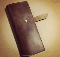 Leather Single Pen Leather Holder Slip Case/ pen case
