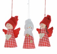 Christmas Felt Sweet Little Angel Hanging Decorations