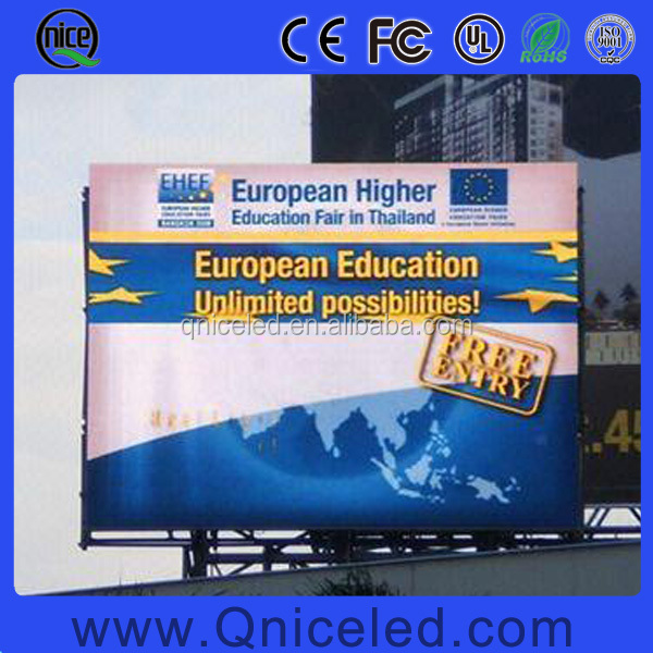 P6 P8 P10 P16 P20 outdoor full color led display billboard for outdoor building